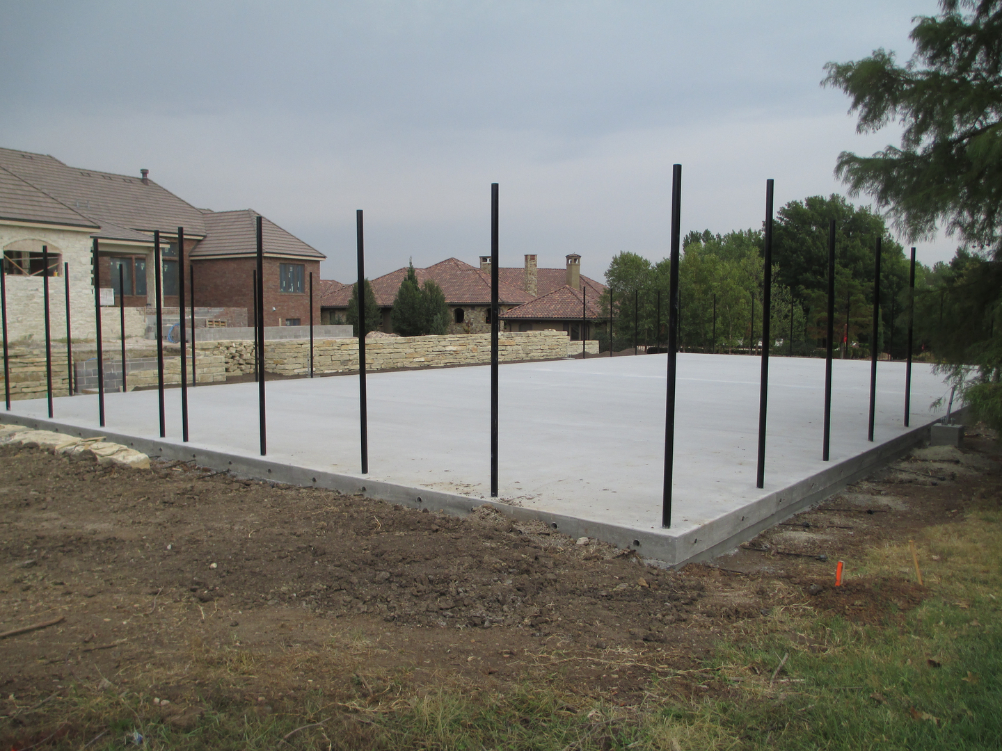 tennis court builder in wichita