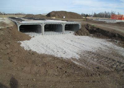 Commercial Concrete Drainage Construction in Wichita