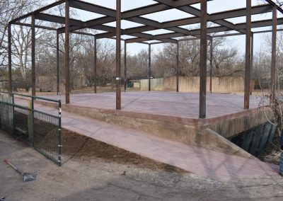 Stamped Commercial Concrete Wichita Zoo