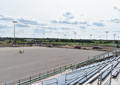 Synthetic Turf Base Construction Stryker Sports Complex