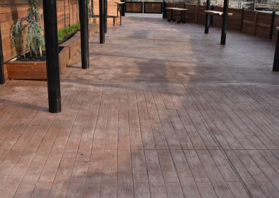 Stamped Commercial Concrete Sedgwick County Zoo