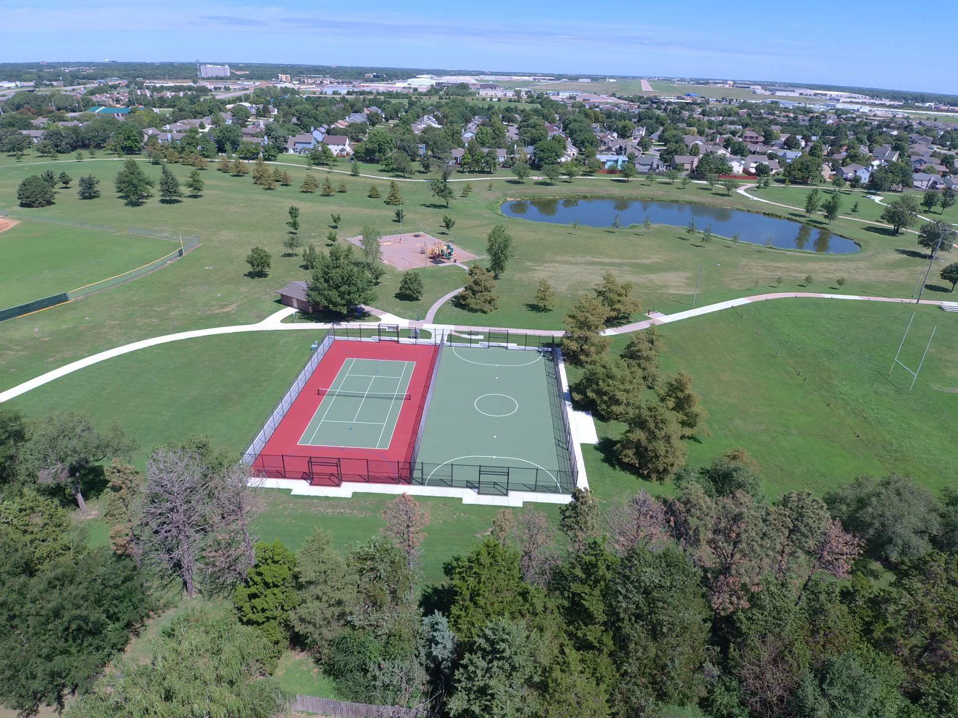 Harrison Park Futsal and Tennis Court Builder