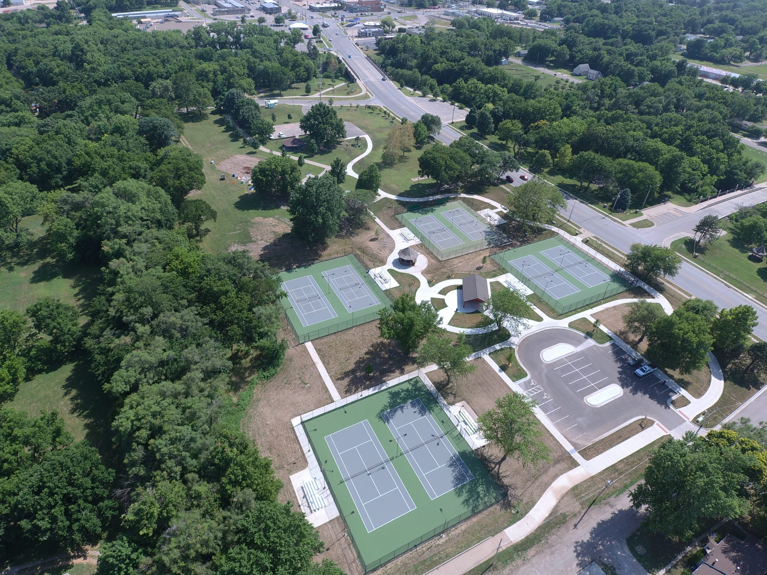 El Dorado tennis courts